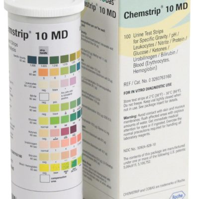 Urine Test Strips Chemstrip By Roche 10md Jit4you