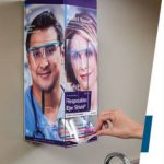 Eye Shields with Dispenser TIDIShield Grab 'n Go™
