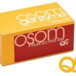 Test Kit OSOM Rapid Diagnostic Test Influenza A + B Nasal Swab Sample CLIA Moderate Complexity 25 Tests