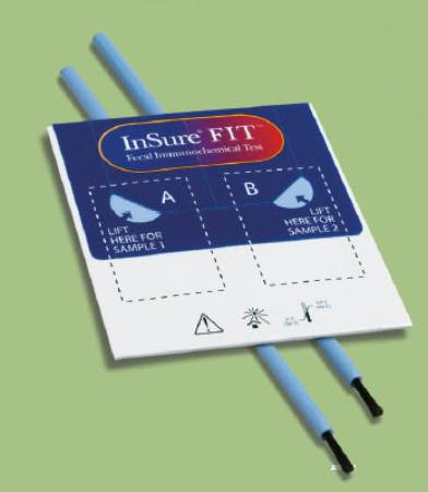 Test Kit Insure Fit Colorectal Cancer Screen Fecal