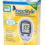 Blood Glucose Meter FreeStyle Freedom Lite 5 Seconds Stores Up To 400 Results No Coding
