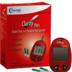 Blood Glucose Test Strips Clarity Plus 50 Test Strips per Box
