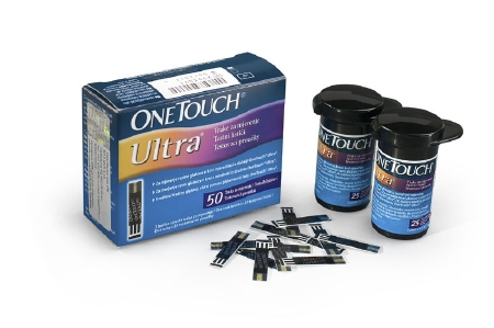 Ultre one touch test strip