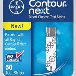 Blood Glucose Test Strip Countour Next 50 Test Strips per Box