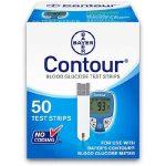 Blood Glucose Test Strip Contour .6 Microliter Sample Size