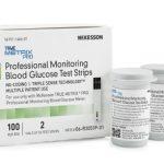 Blood Glucose Test Strips McKesson TRUE METRIX PRO 100 Test Strips per Box