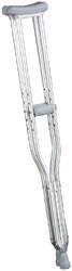 Underarm Crutch EQU-MED Aluminum Adult 250 lbs.