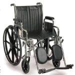 Standard Wheelchair 20 Inch Breezy® EC 2000 220RAFPS