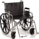 Standard Wheelchair 22 Inch Breezy® EC 2000 2HD22RADPS