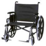 Bariatric Wheelchair 24 Inch Regency XL 6500Q4-35-P183