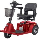 Electric Scooter 3 Wheel Red