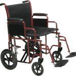 Transport Wheelchair 22 Inch Drive Medical BTR22-R
