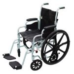 Transport Wheelchair 16 Inch. Drive Medical TR16