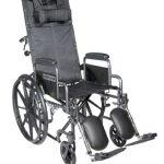 Reclining Wheelchair 18 Inch. Drive Medical SSP18RBDDA