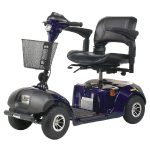 4 Wheel Standard Scooter Daytona 4 GT For outdoor and indoor use Blue