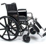 Bariatric Wheelchair 22 Inch Traveler® HD 3G010420