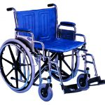 Bariatric Wheelchair 24 Inch Tracer® IV T424RFAP/T93HCP/1496