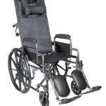 Reclining Wheelchair 16 Inch. Drive Medical SSP16RBDDA