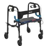 4 Wheel Rollator Clever-Lite Blue Junior Aluminum