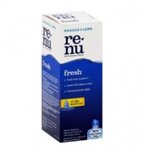 Contact Lens Solution Re-nu Multi Purpose 4 oz. Liquid
