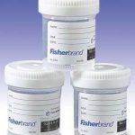 Specimen Container with Temperature Strip Fisherbrand™ Polypropylene Screw Cap 60 mL (2 oz.) NonSterile