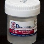 Prefilled Formalin Container BBC Biochemical Trans-Pak™ Polypropylene Screw Cap 30 mL Fill in 60 mL (2 oz.) NonSterile