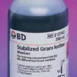 Gram Iodine Stain BD BBL 4 X 250 mL